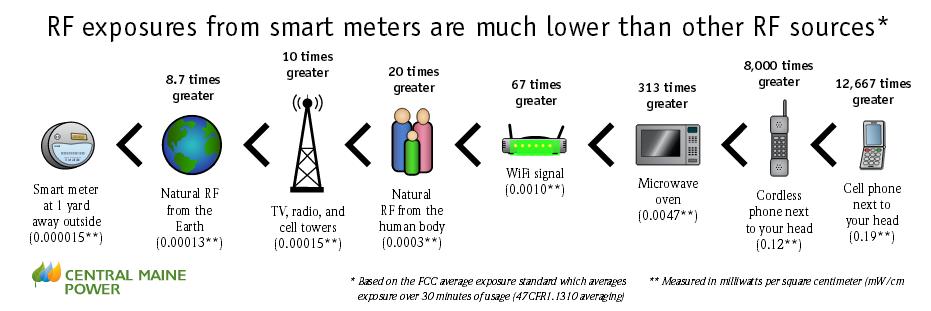 Smart Meter RF Safety Homes