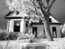 Infrared Photo Abandoned Home Scantech Photography 200 high