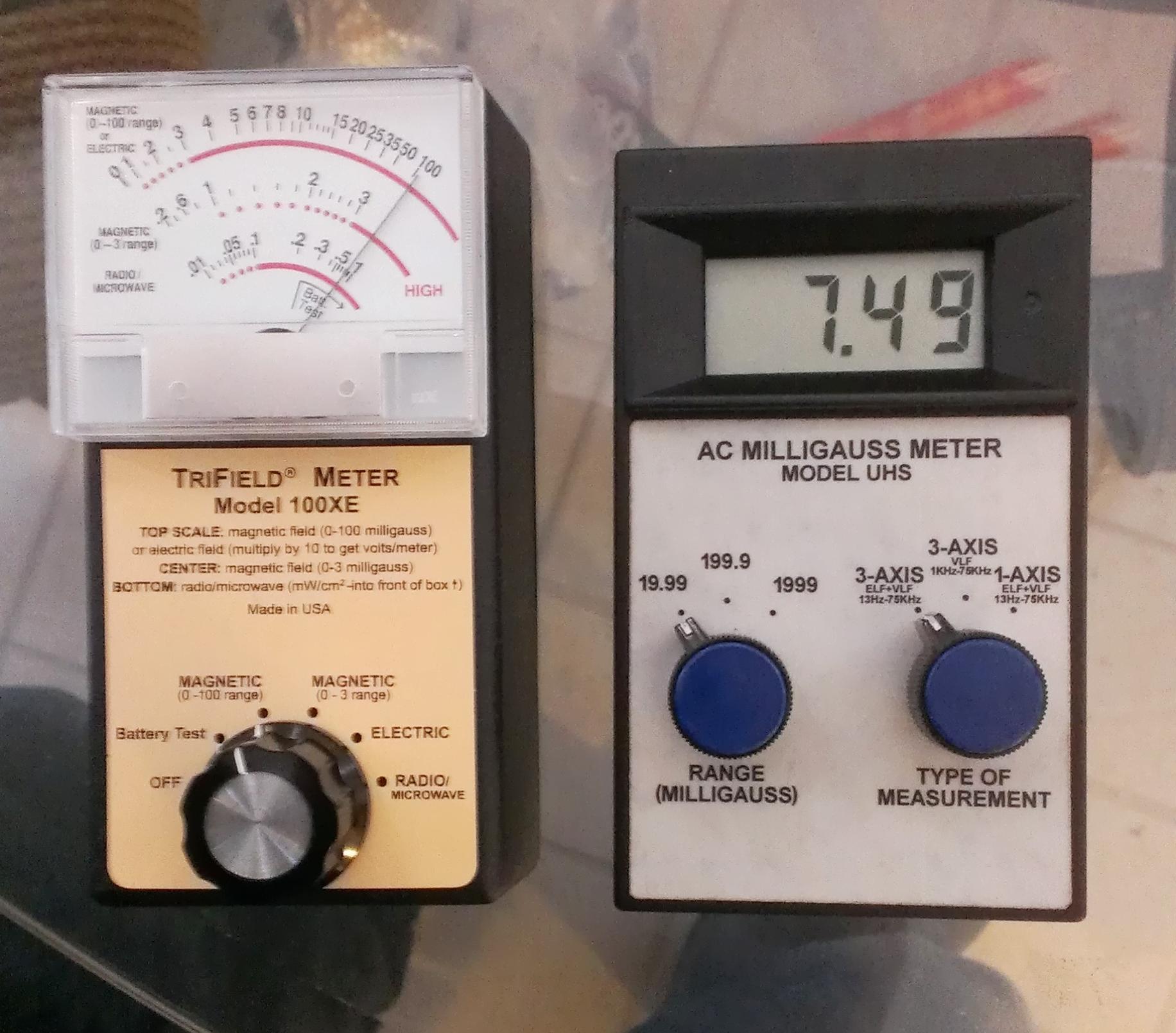EMF Meter Testing Professional
