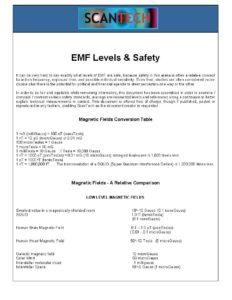 Safe EMF Levels - Radiation Safety Levels Guide