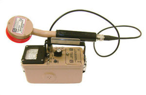 Ludlum Geiger Counter used to Measure Radiation