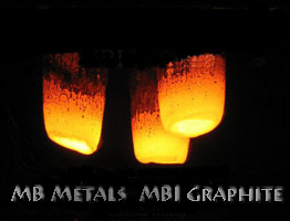MB Metals MBI Graphite Radiation scans for scrap metal inspections and certifications