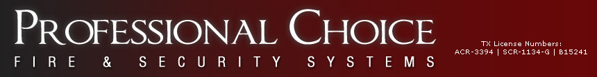 Professional Choice Fire Security Systems Logo