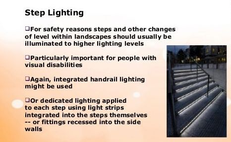 Step Lighting Design Safety