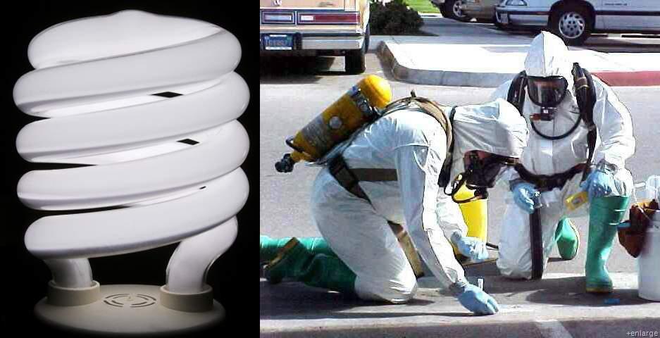 Broken CFL Cleanup