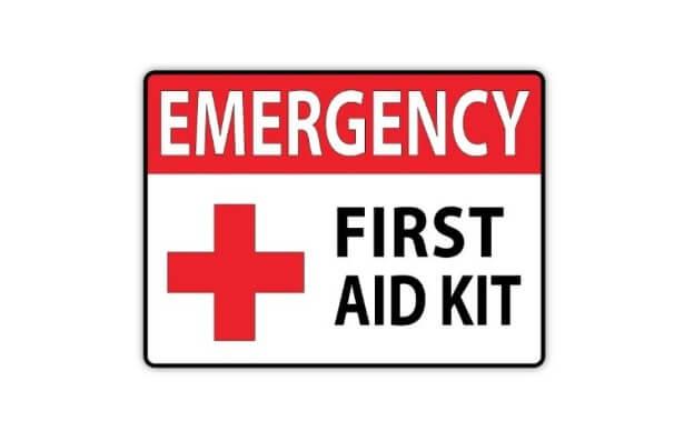 First Aid Kit Emergencies Medical Supplies