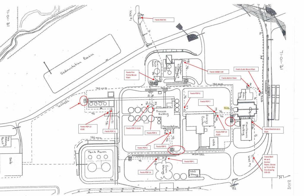 EMF Survey Map