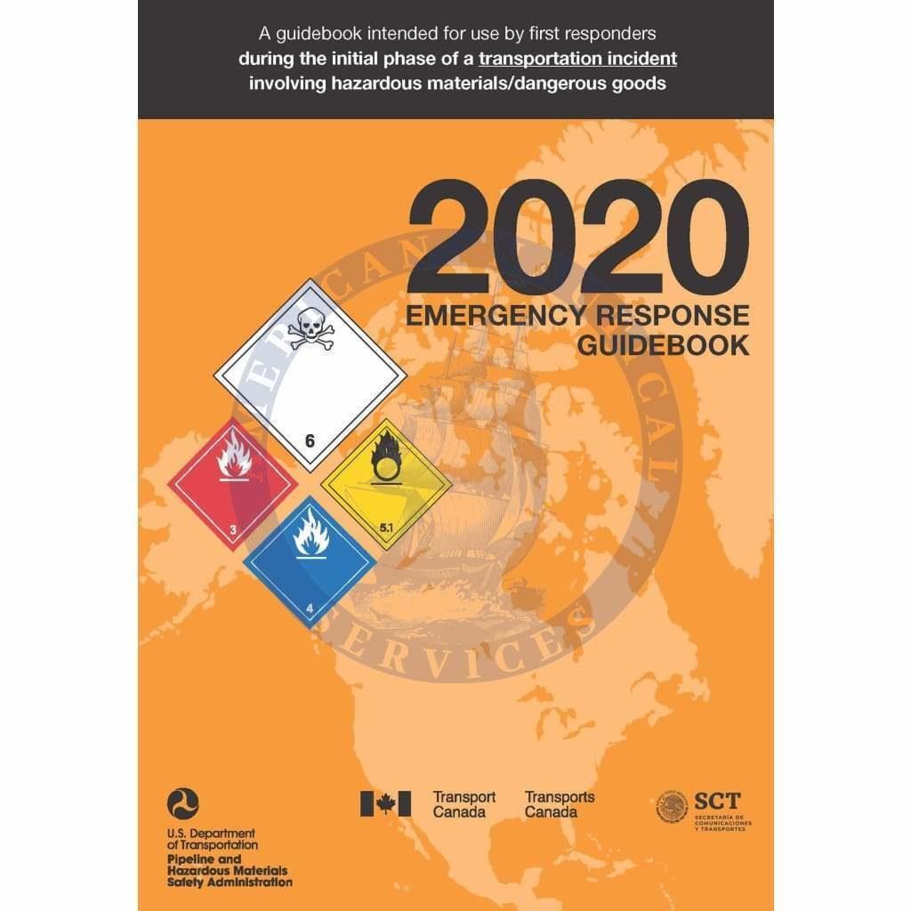 Emergency Response Guidebook 2020